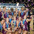 Qld Firebirds vs NSW Swifts Grand Final 2016 - 2016 ANZ Netball Championship Grand Final Qld Coffee Club Firebirds vs NSW Swifts 31/7/2016 Brisbane Entertainment...