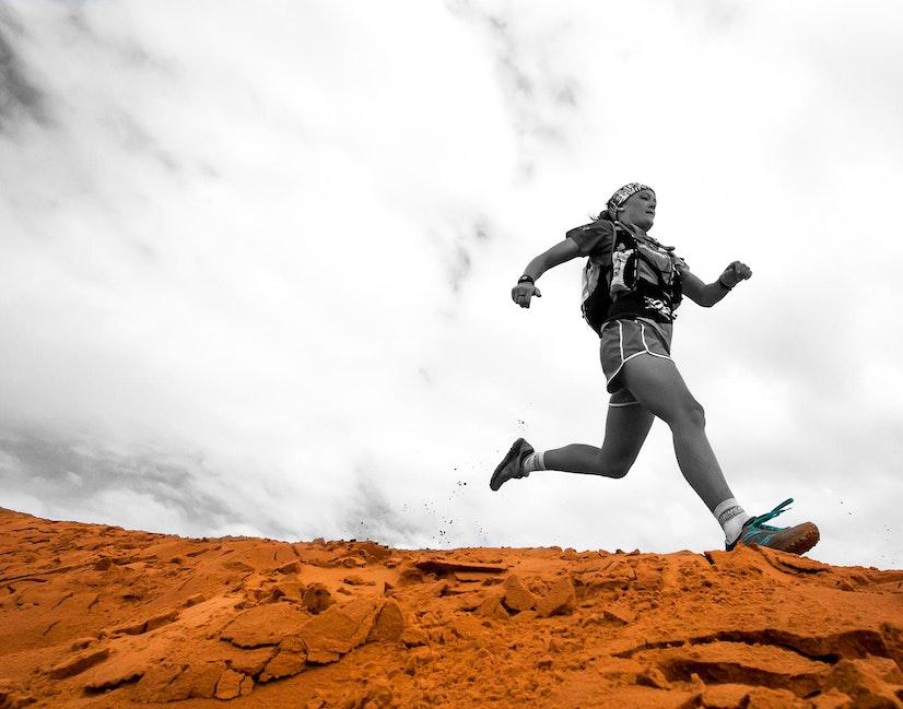 Big Red Run - runner