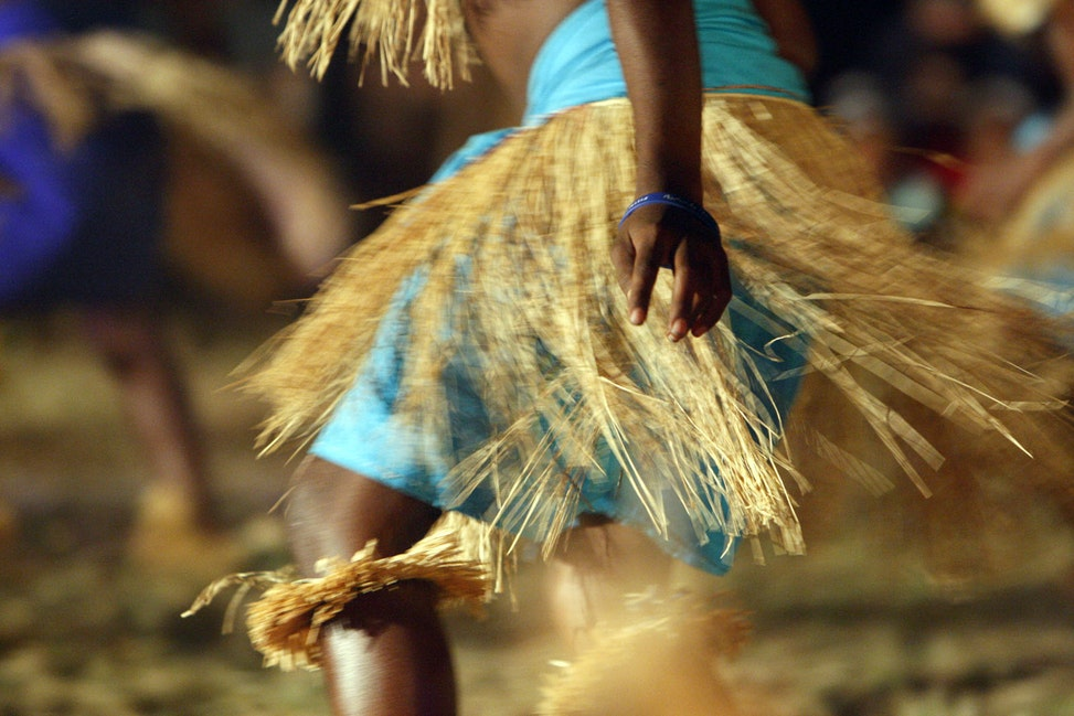 Deadly shake-a-leg - Deadly, deadly, shake-a-leg goes on all weekend outside the Cape York township of Laura at the Laura Dance Festival.  Credit Cathy...