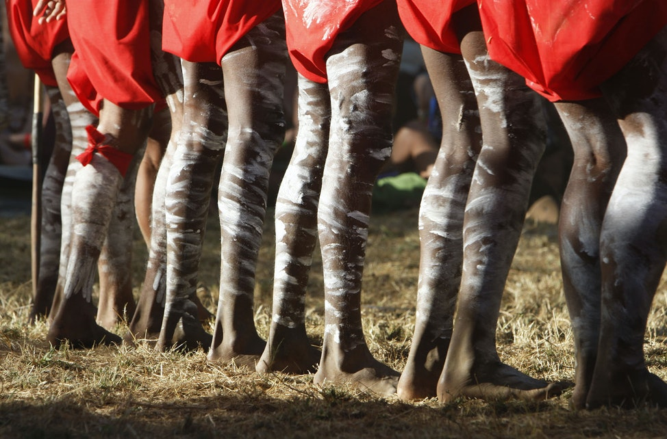 Laura Dance Festival 04 - The Laura Aboriginal Dance Festival in Cape York is held bi-annually and draws over 20 indigenous communities to compete and...