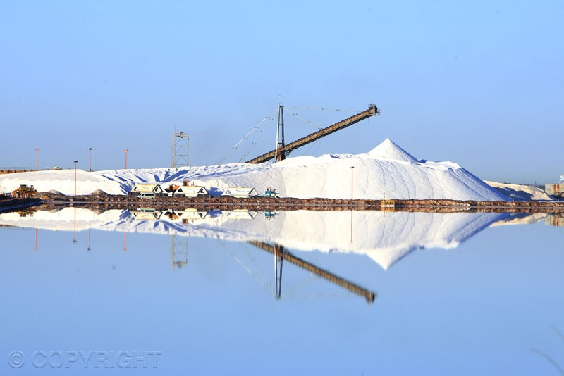 Salt mining - Salt mining, Port Hedland. Image taken by Toowoomba Commercial Photographer, Cathy Finch Photography.
