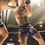 Brace 40 - Tom Kingston Vs Tristan Murphy - Photo taken from Brace 40 held on 14th May 2016 at Southport RSL, Gold Coast.