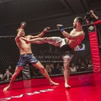 Brace 44 - Ethan Duniam vs Greg Atzori - Photo taken from Brace 44 held on 8th October 2016 at Southport RSL, Gold Coast.