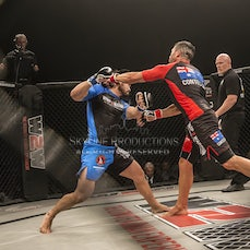 Wimp 2 Warrior Finale S5 Fight 15 Engles Joves vs Greg Bell - Photos taken from the Wimp 2 Warrior series 5 finale at Luna Park's Big Top in Sydney on...