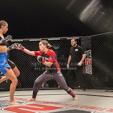 Wimp 2 Warrior Finale S5 Fight 1 Tani Vollmer vs Adrienne Giles - Photos taken from the Wimp 2 Warrior series 5 finale at Luna Park's Big Top in Sydney...