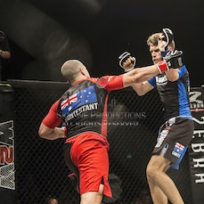 Wimp 2 Warrior Finale S5 Fight 17 Patrick Gregson vs Clint Selwood - Photos taken from the Wimp 2 Warrior series 5 finale at Luna Park's Big Top in Sydney...