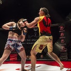 Brace 47 - Mel Zeman vs Claire Todd - Photos taken from Brace 47 held on 18th of March 2017 at Big Top Luna Park Sydney
