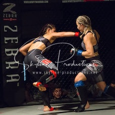 Vivian Su vs Zoey Richardson Wimp 2 Warrior Finale VT1 - Photos taken from the Wimp 2 Warrior Finale VT1 at Norths Cammeray in Sydney on the 9th of December...