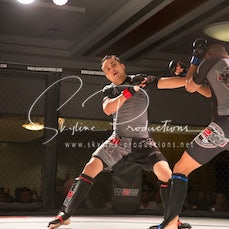 Aldo Dela Torre vs Andreas Bleich W2W Synergy Series 1 - Photos taken from the Wimp 2 Warrior  Synergy Finale Series 1 at the Hellenic Club Canberra at...