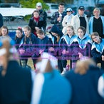 All Hallows Rowing Action 2014
