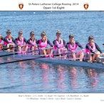 St Peters Rowing Crews 2014