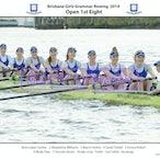 Brisbane Girls Grammar Rowing Crews 2014