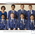 Nudgee Debating Teams 2014