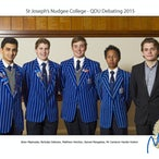 Nudgee College Debating Teams 2015