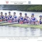 Brisbane Girls Grammar Rowing Crews 2015