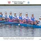 All Hallows Rowing Crews 2015