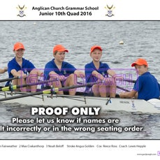 ACGS Rowing Crews 2016