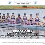 BGS Rowing Crews 2016