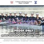 St Aidans Rowing Crews 2016