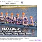 St Margarets Rowing Crews 2016