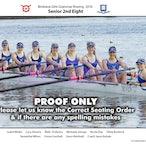 BGGS Rowing Crews 2016
