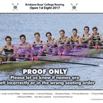 BBC Rowing Crews 2017