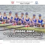 Brisbane Girls Grammar Rowing Crews 2017