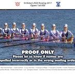 St Aidans Rowing Crews 2017