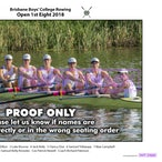 BBC Rowing Crews 2018