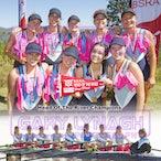All Hallows Rowing Double Photos 2017