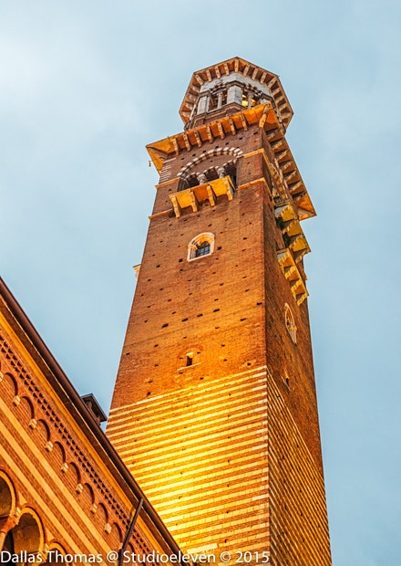 One of the many towers in Verona - 2678-Edit
