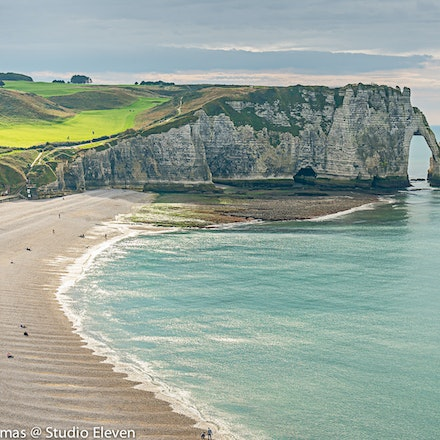 2013 Etretat - Étretat is a commune in the Seine-Maritime department in Normandie region in north-western France. It is a tourist and farming town situated...