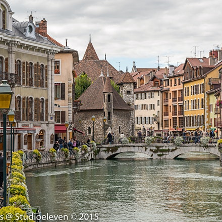 2015 Annecy - Annecy is an alpine town in southeastern France, where the River Thiou meets Lac d'Annecy. It's known for its Vieille Ville (old town), with...
