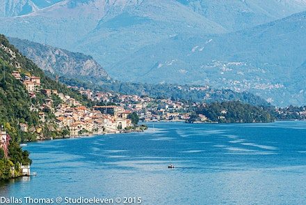 Looking toward Villa del Balbianello - 1632-Edit
