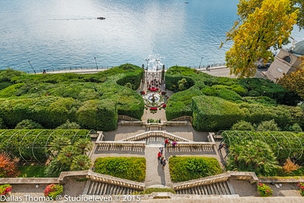 Villa Carlotta looking down and out to the lake -1699-Edit
