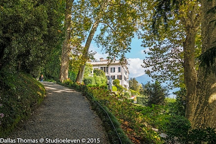 Villa Carlotta through the trees -1714-Edit