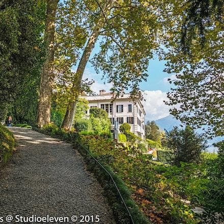 Villa Carlotta through the trees -1714-Edit