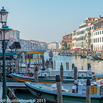 2015 Venice - Venice, capital of northern Italy's Veneto region, is built on more than 100 small islands in a marshy lagoon in the Adriatic Sea. Its stone...