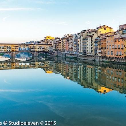 More Ponte Vecchio and reflecations - 3439-Edit