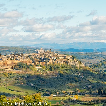 2015 Orvieto - Orvieto is a city and comune in the Province of Terni, southwestern Umbria, Italy situated on the flat summit of a large butte of volcanic...