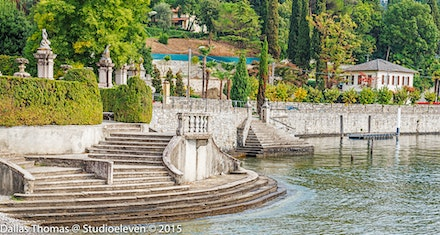 The inviting steps our of the lake at Azzano - 121015-1661-Edit