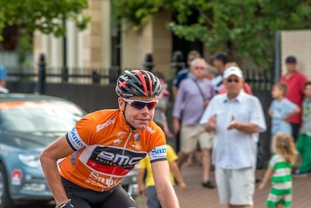 2014 Cadel Evans at the Tour Down under - 2011 Tour de France Winner