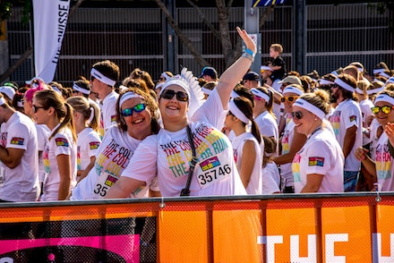 2013 Colour Run - Selected images from the Colour Run held at Olympic Park in Sydney