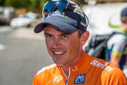 Tour Down Under Winner Simon Gerrans