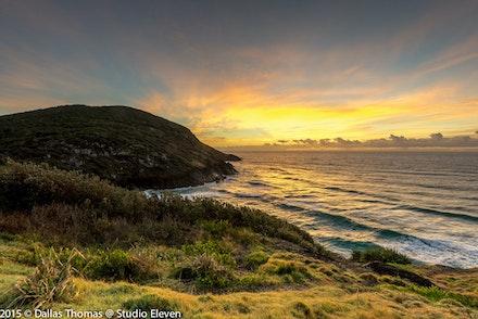 Sunrise at Hat Head
