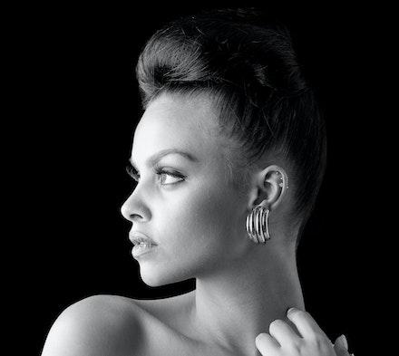 Studio 1A Shoot 201-Edit-Edit-2 - Studio shoot of model Melanie J Bowers