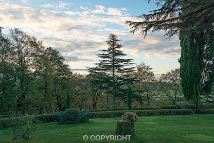 113 Tenuta Castelverde 241115-4422-Edit - Sunrise at Tenuta Castelverde, Umbria, Italy.
