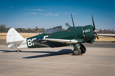 2016 War Birds - Temora - The goal of the Temora Aviation Museum is to collect and maintain in airworthy condition, historical military aircraft types...