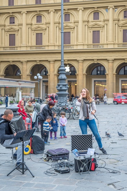 091 Florence 091115-3522 - Street Opera, Florence, Italy