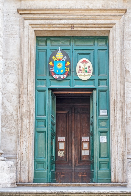 119 Rome Day 8 011215-4828-Edit - Doors within doors is very common sight in Europe.
